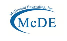 McDonald Excavating, Inc. logo
