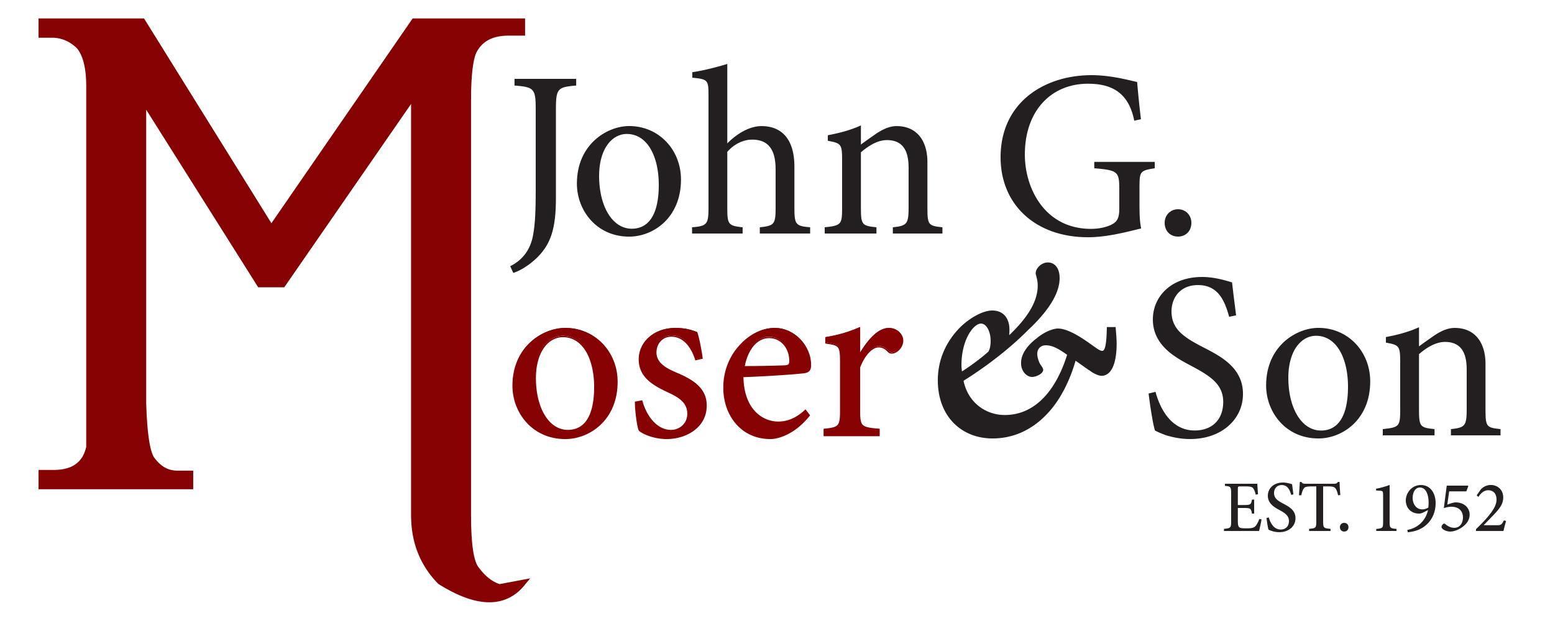 John G. Moser & Son, Inc. logo